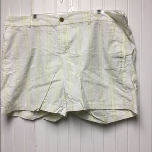 Old navy neon stripes 5in shorts size 18